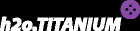 h2o Titanium logo