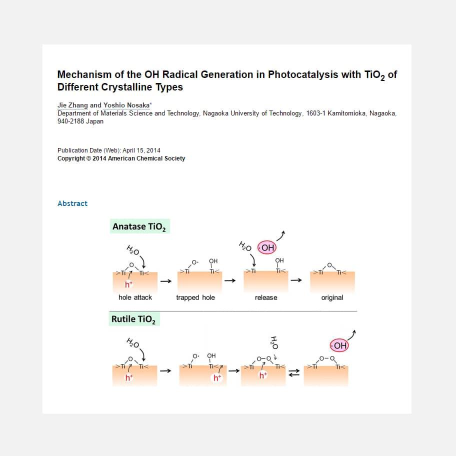 Fundamento científico de h2o.titanium