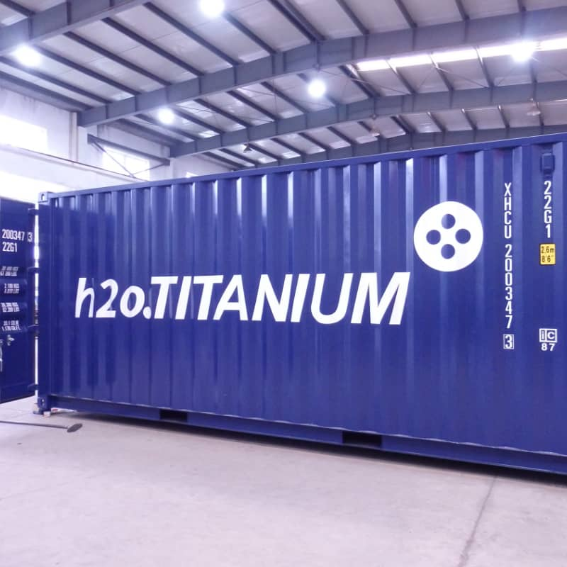 Serie Catharsis Línea Compact Source de Vie reactor h2o titanium